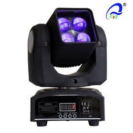 Chine 4 Pcs 15W 4 en 1 Osram Moving Head Zoom LED Disco Light DMX512 AC100 LED - 240V fournisseur