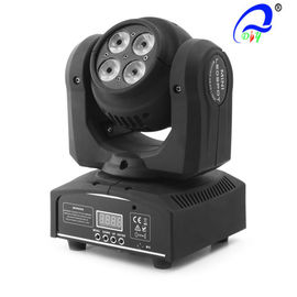 Chine Double 8PCS Face * 10W Mini Wash Led Moving Head Light Axe Y Rotation illimitée distributeur